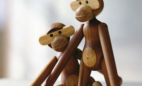 Apa i trä av Kay Bojesen